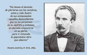 Pensamiento de José Martí