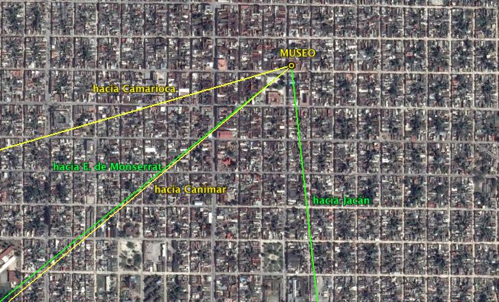Mediciones desde la Ciudad de Cárdenas