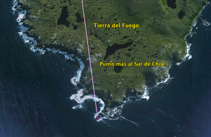 Extremo sur de la Tierra del Fuego.