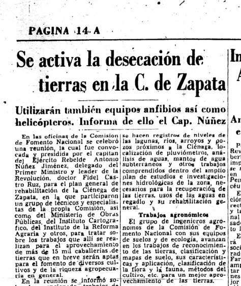 Ciénaga de Zapata -Soplillar
