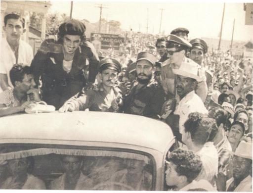 Fidel en Camaguey, 1959.